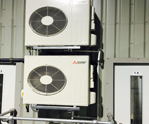 Merseyside Recycling & Waste Authority Knowsley Air Con Installation